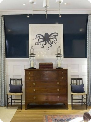 bedroom-dresser chairs octopus pring blue navy white brown_Max and Company-Phoebe Howard