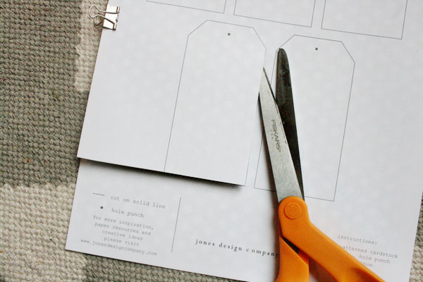 Another way to create your tag is to print the template directly on ...