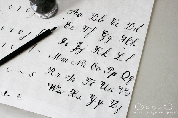 Learning calligraphy for real this time jones design Where to learn calligraphy