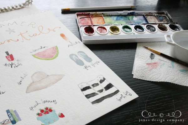watercolor-painting-summer-essentials-art