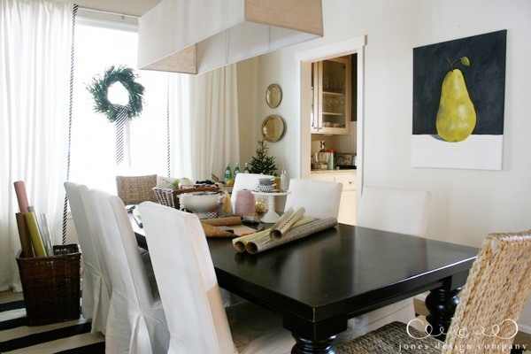dining-room-table-pear-painting