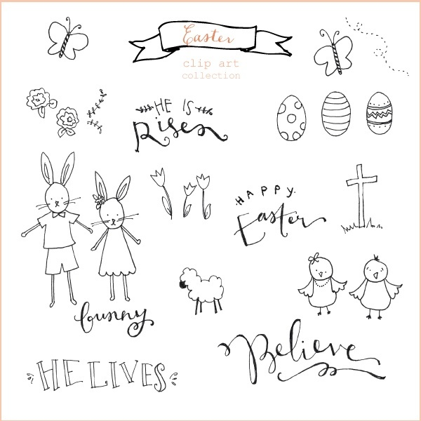 easter-clip-art-collection