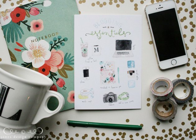 blogging-essentials-artprint