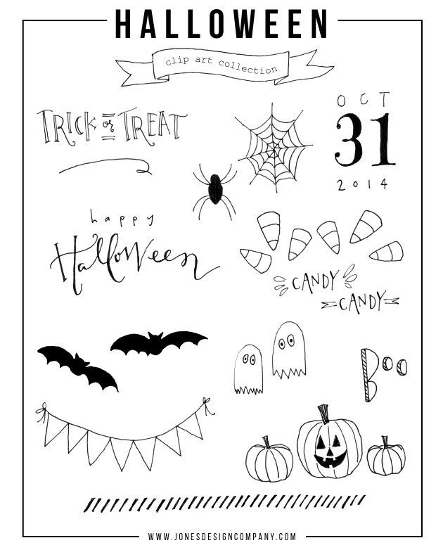halloween-clip-art-collection