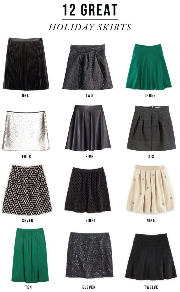 holiday-skirts