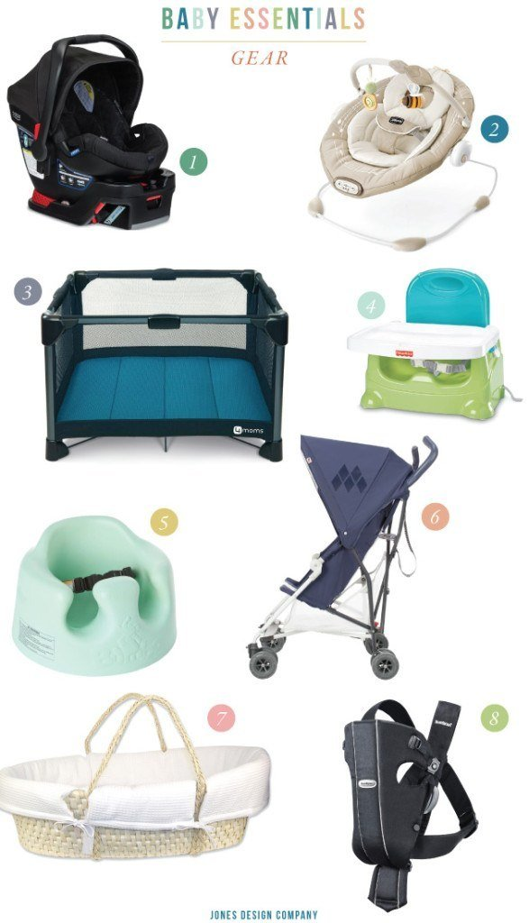 BABY ESSENTIALS: the best gear for your baby / jones design company