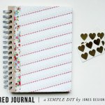 Covered Journal / a simple diy to do with kids