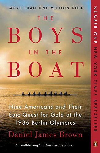 Boys in the Boat - a great read if you like history , sports, Seattle and an engaging story / jones design company