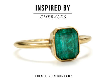 inspired by emeralds / jones design company
