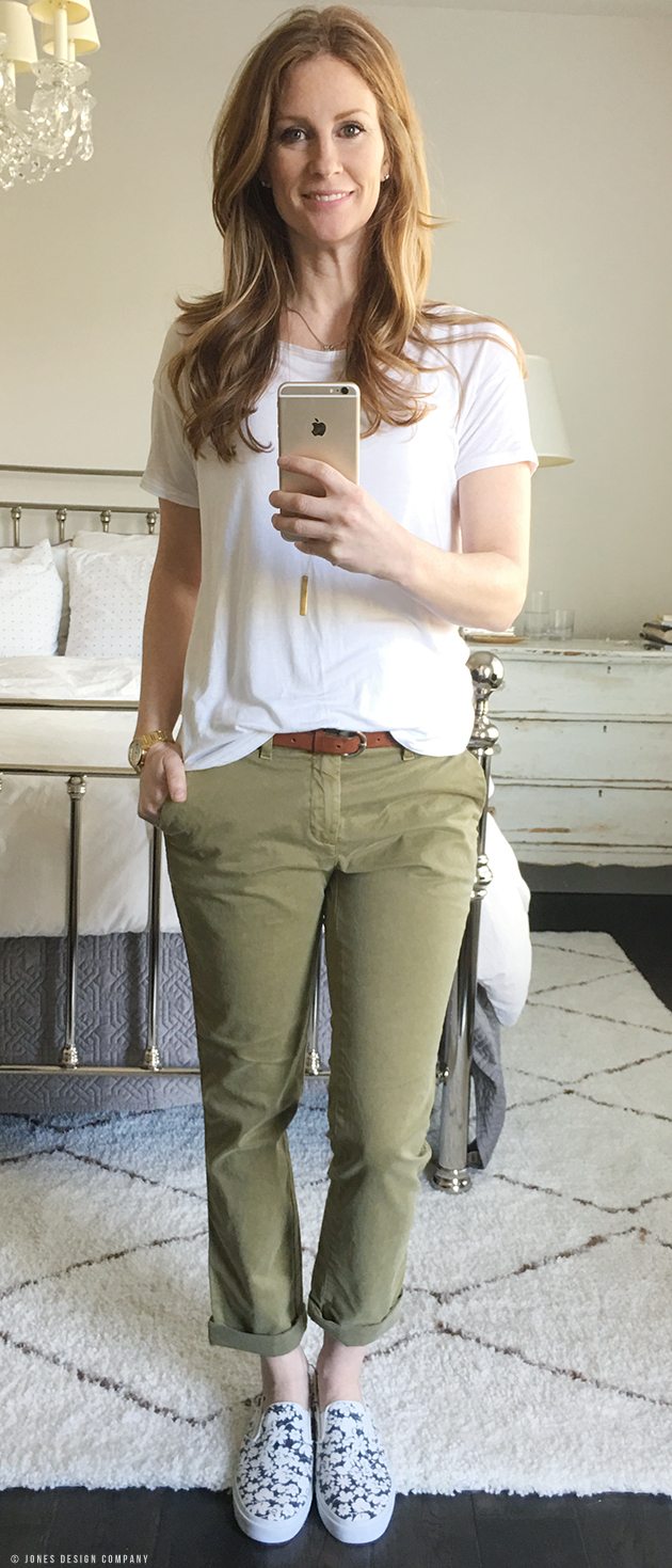Tops To Wear With Green Pants